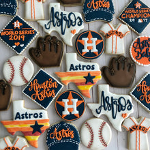 Load image into Gallery viewer, Two Dozen Baseball Cookies