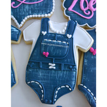 Load image into Gallery viewer, Two Dozen It's a Girl Sugar Cookies