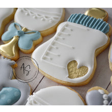 Load image into Gallery viewer, Two Dozen Elephant Baby Shower Cookies
