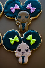 Load image into Gallery viewer, Afro Baby Girl Melanin Collection Custom Sugar Cookies