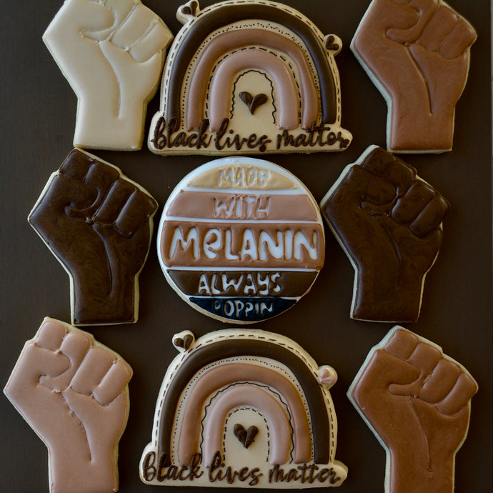 Melanin Poppin Custom Sugar Cookies