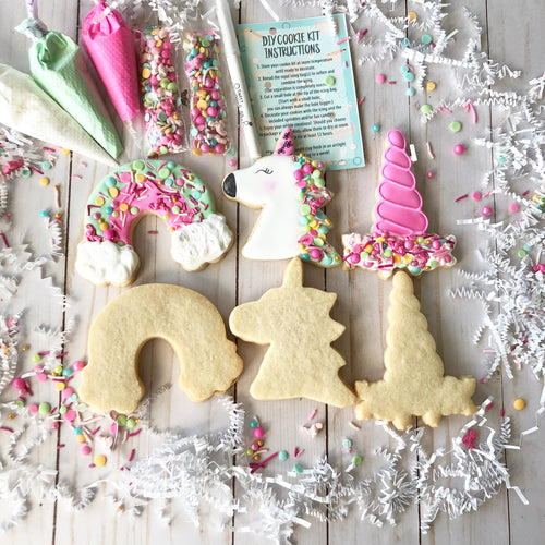 DIY Unicorn Sugar Cookie Decorating Kit
