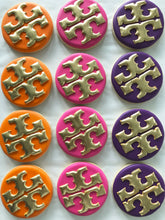 Load image into Gallery viewer, One Dozen Designer Inspired Decorated Sugar Cookies