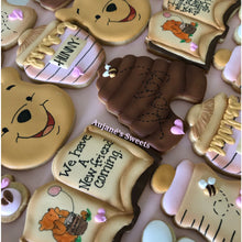 Load image into Gallery viewer, Two Dozen Pooh Sugar Cookies
