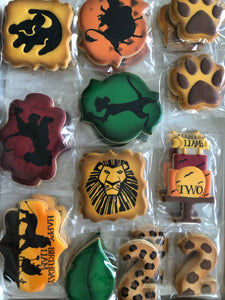 Two Dozen Decorated Sugar Cookies
