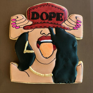 Dope Girl Melanin Collection Custom Sugar Cookies
