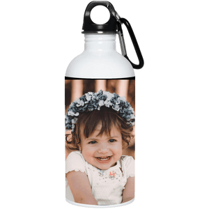 23663 20 oz. Stainless Steel Water Bottle Add your own Photo (Email Your Photo after ordering)