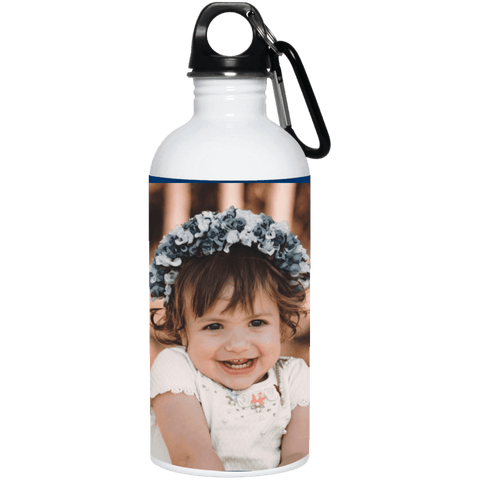 23663 20 oz. Stainless Steel Water Bottle Add your own Photo (Email Your Photo after ordering) Drinkware CustomCat