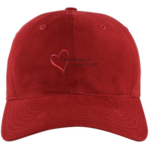 A Thankful Heart  Unstructured Cresting Cap