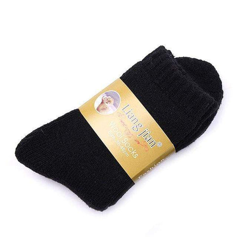 1 Pair Mens Thick Thermal Warm Socks Harner Isle Black One Size
