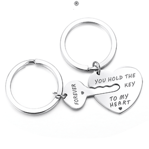 YOU HOLD THE KEY TO MY HEART FOREVER Keychains