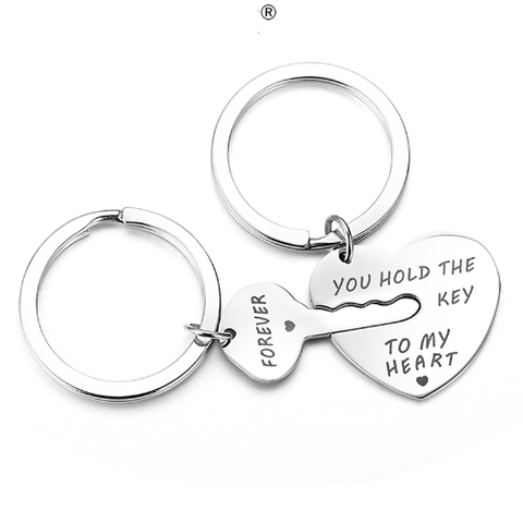 YOU HOLD THE KEY TO MY HEART FOREVER Keychains Key Chain Harner Isle