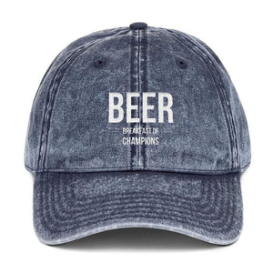 Beer Breakfast of Champions Otto Cap 18-1248 Vintage Cap