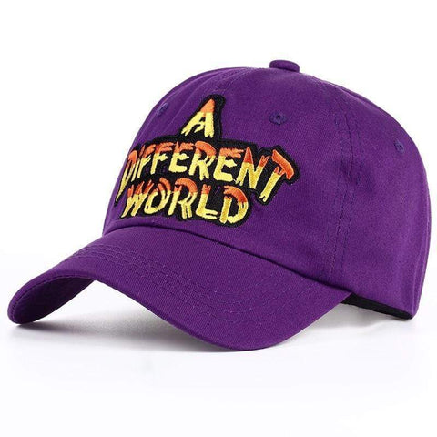 A DIFFERENT WORLD Embroidered Sports Cap Harner Isle