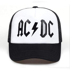AC/DC Snap Back Mesh Sports Cap