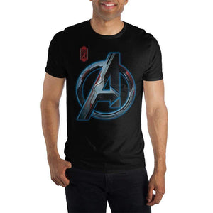 A Symbol Mens Avengers Shirt Short Sleeve Avengers T Shirt tee Marvel Comics
