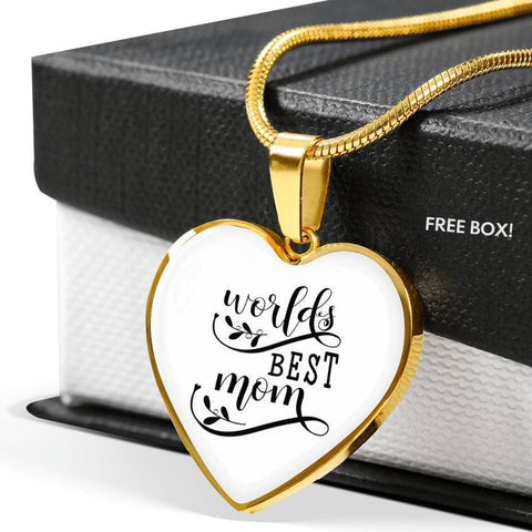 World's Best Mom Jewelry ShineOn Fulfillment
