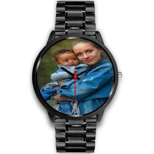 Add your own Photo Custom Watch (Email in your photo after ordering)