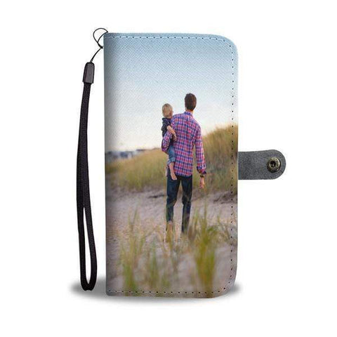 Add your own Photo Wallet Case For iPhones (Email in your photo after ordering) Wallet Case wc-fulfillment