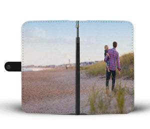 Add your own Photo Wallet Case For Samsung Phones (Email in your photo after ordering)