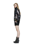 DAIKANYAMA - Short Bomber Jacket Ash Black