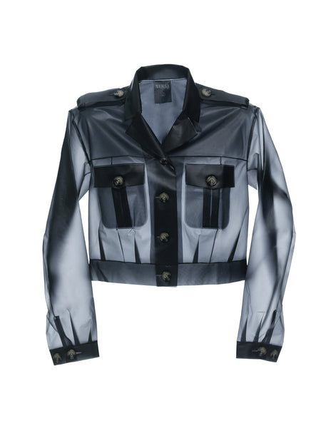 Zulu - Cropped Jacket Smokey Grey