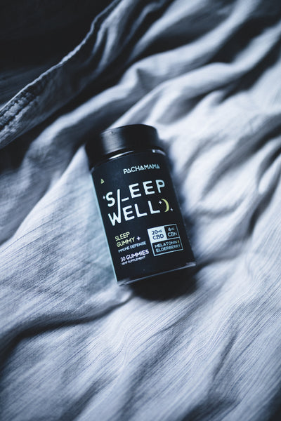 CBN + Melatonin = the perfect natural sleep aid