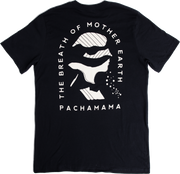 Mother Earth Tee - Black - PACHAMAMA CBD