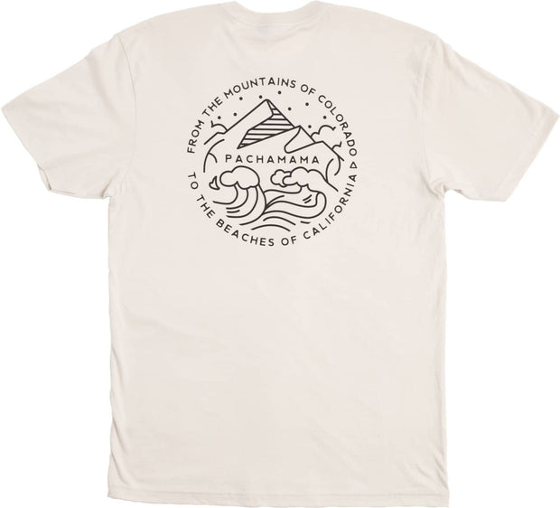 The Protectors & Pioneers Tee - Cream - PACHAMAMA CBD