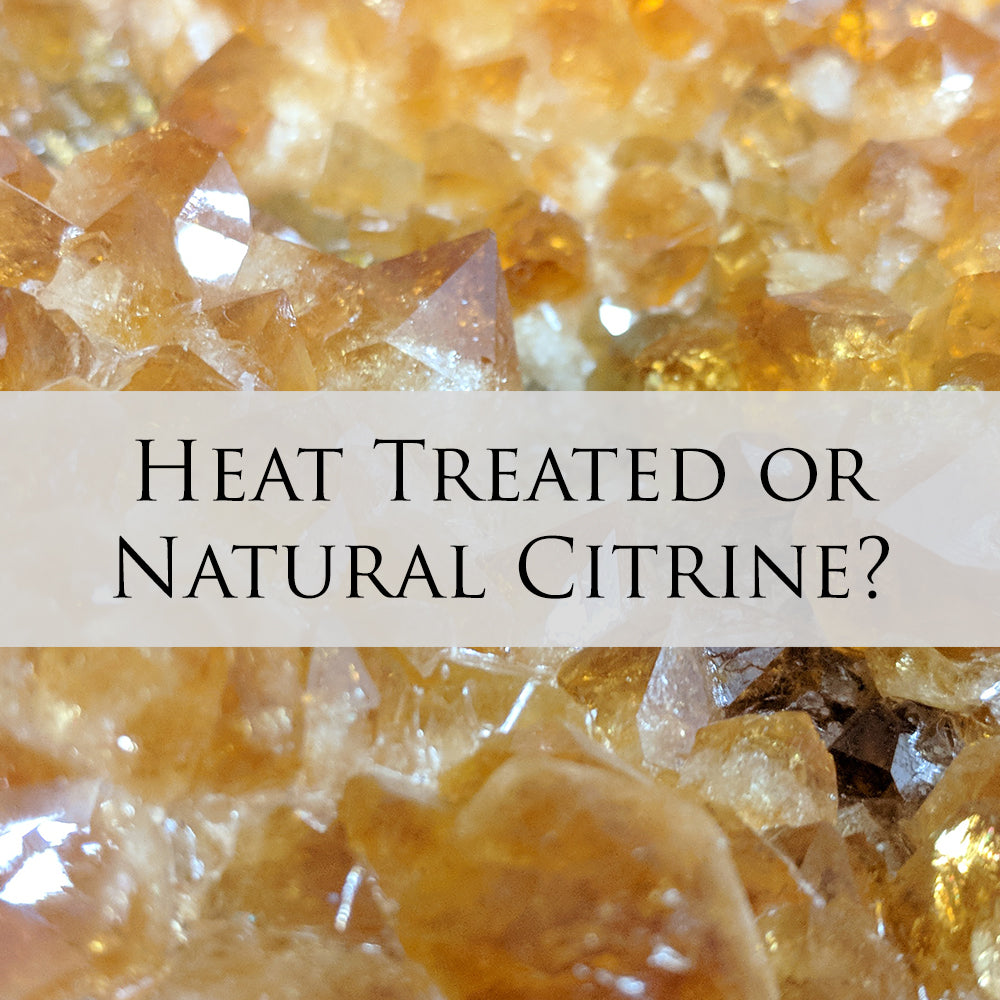 Heat Treated & Natural Citrine