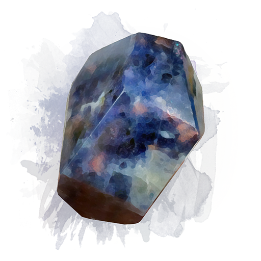 Iolite with Sunstone