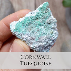 Cornwall Turquoise Mineral Specimen