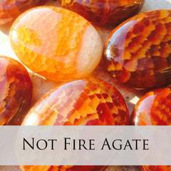 Fire Crackle Agate palms