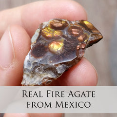 Real Fire Agate