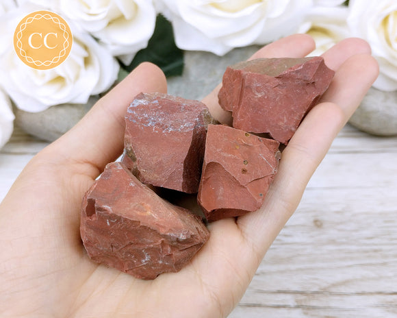 Raw Red Jasper crystal