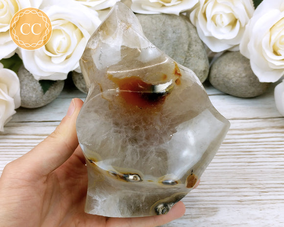 Large Agate Flame #4