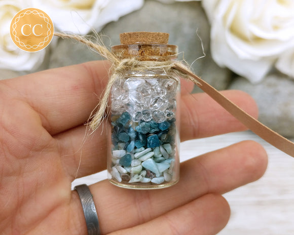 Crystal Charm Bottle - Calm