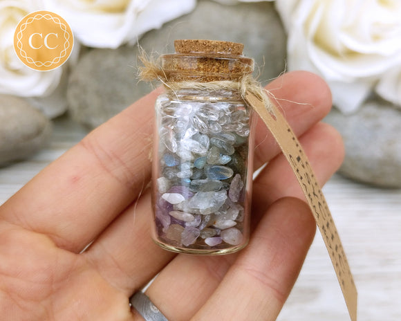 Crystal Charm Bottle - Psychic