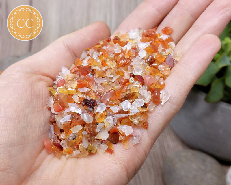Carnelian Crystal Chips