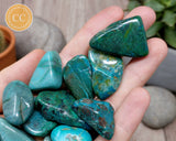 Chrysocolla Tumbled Crystal