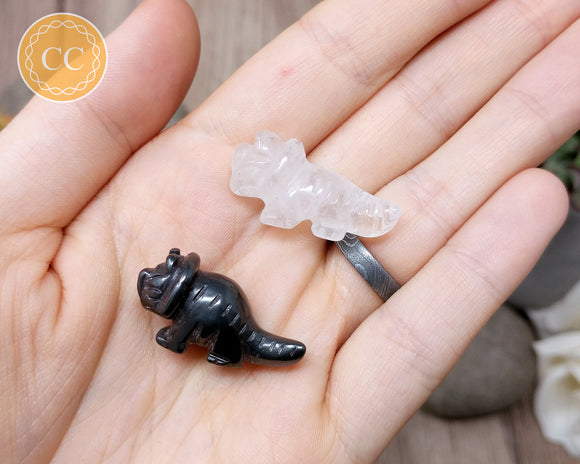 Mini Crystal Triceratops