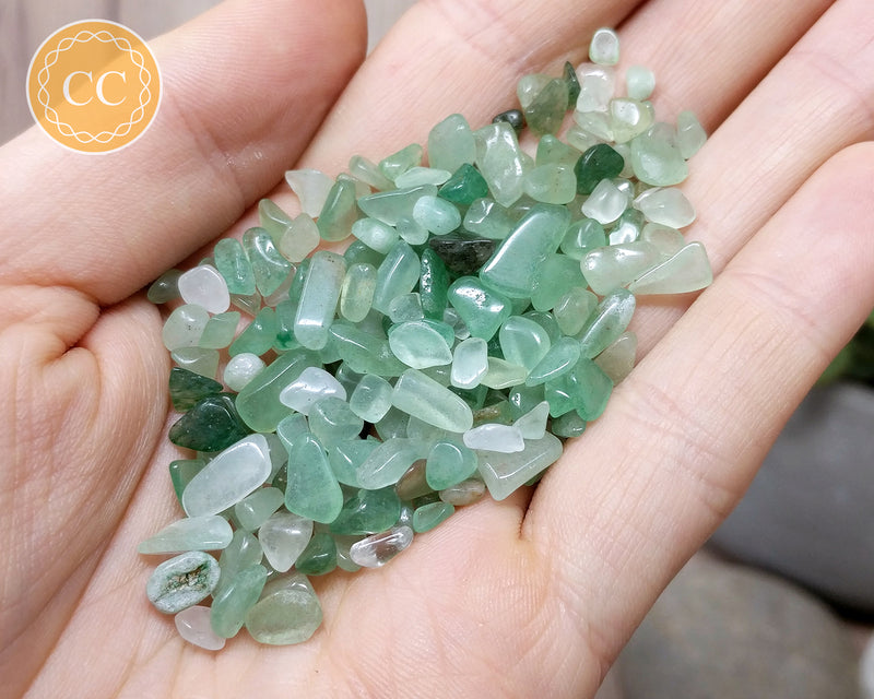 Green Aventurine Crystal Chips