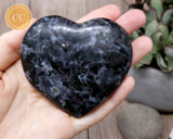 Indigo Gabbro | Mystic Merlinite Heart #2