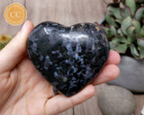 Indigo Gabbro | Mystic Merlinite Heart