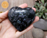 Indigo Gabbro | Mystic Merlinite Heart #1