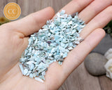 Larimar small crystal chips