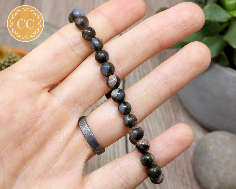 Llanite | Que Sera 6mm Beaded Bracelet
