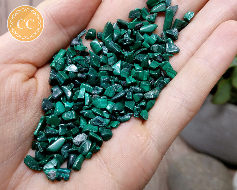 Malachite Crystal Chips