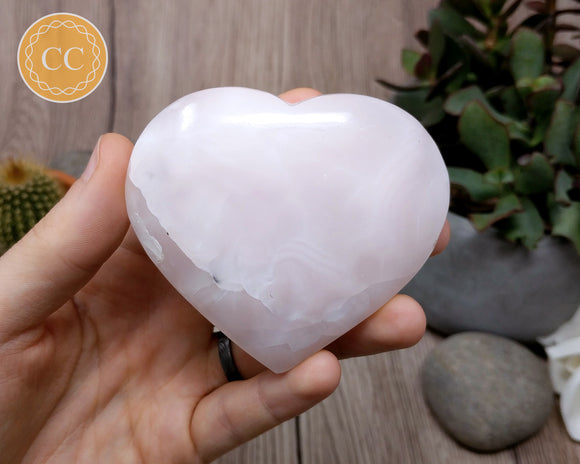Mangano Calcite Heart #1