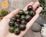 Dragons Blood Jasper Mini Spheres